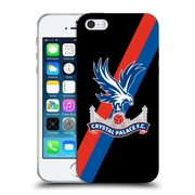 Official Crystal Palace FC The Eagles Sash Soft Gel Case for Apple iPhone 5 / 5s / SE (C_D_1E184)