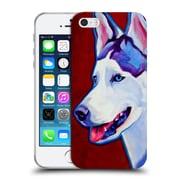 Official Dawgart Dogs Siberian Husky Soft Gel Case for Apple iPhone 5 / 5s / SE (C_D_1A443)