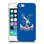 Official Crystal Palace FC The Eagles Royal Blue Soft Gel Case for Apple iPhone 5 / 5s / SE (C_D_1E182)