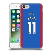 Official Crystal Palace FC 2016/17 Players Home Kit Wilfried Zaha Soft Gel Case for Apple iPhone 7 (C_1F9_1E627)