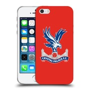 Official Crystal Palace FC The Eagles Red Soft Gel Case for Apple iPhone 5 / 5s / SE (C_D_1E183)