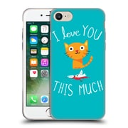 Official DINOMIKE FUN ILLUSTRATIONS I Love You This Much Soft Gel Case for Apple iPhone 7 (C_1F9_1BB1D)