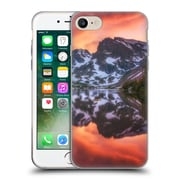 Official DARREN WHITE REFLECTION Maroon Bells Alpenglow Soft Gel Case for Apple iPhone 7 (C_1F9_1B1CF)