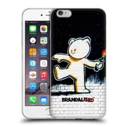 OFFICIAL BRANDALISED BANKSY TEXTURED ART Molotov Teddy Soft Gel Case for Apple iPhone 6 Plus / 6s Plus (C_10_19A49)