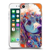 Official Dawgart Dogs Poodle Bonnie Soft Gel Case for Apple iPhone 7 (C_1F9_1A445)
