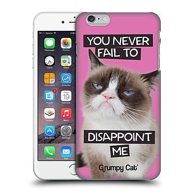 OFFICIAL GRUMPY CAT QUOTES Disappointed Hard Back Case for Apple iPhone 6 Plus / 6s Plus (9_10_1CC1D)