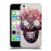 OFFICIAL ALI GULEC THE MESSAGE Foral Skull Soft Gel Case for Apple iPhone 5c (C_E_1BD4E)