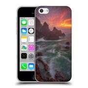 Official Darren White Sunrises and Sunsets Christmas Soft Gel Case for Apple iPhone 5c (C_E_1B1D7)