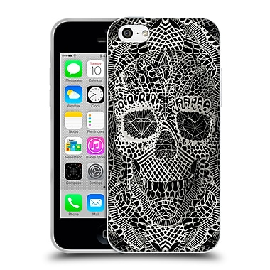 OFFICIAL ALI GULEC THE MESSAGE Lace Skull Soft Gel Case for Apple iPhone 5c (C_E_1BD57)