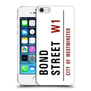 OFFICIAL CITY OF WESTMINSTER STREET SIGNS Bond Hard Back Case for Apple iPhone 5 / 5s / SE (9_D_19D1C)