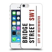 OFFICIAL CITY OF WESTMINSTER STREET SIGNS Bridge Hard Back Case for Apple iPhone 5 / 5s / SE (9_D_19D1D)