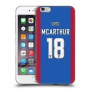 Official Crystal Palace FC 2016/17 Players Home Kit James Mcarthur Soft Gel Case for Apple iPhone 6 Plus / 6s Plus (C_10_1E62A)