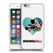 OFFICIAL BRANDALISED BANKSY WALL ART Tank On Tank Soft Gel Case for Apple iPhone 6 Plus / 6s Plus (C_10_19A4E)