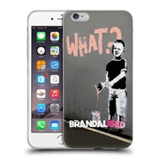 OFFICIAL BRANDALISED BANKSY WALL ART What Cleaned Soft Gel Case for Apple iPhone 6 Plus / 6s Plus (C_10_19A52)