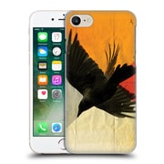 OFFICIAL VIN ZZEP BIRDS Pitch Of A Raven Hard Back Case for Apple iPhone 7 (9_1F9_1E23C)