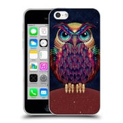 OFFICIAL ALI GULEC GEOMETRIC Owl Soft Gel Case for Apple iPhone 5c (C_E_1BD3C)