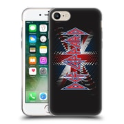Official Def Leppard Logo Union Jack 2 Soft Gel Case for Apple iPhone 7 (C_1F9_1D6E3)