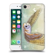OFFICIAL VIN ZZEP BIRDS Barn Owl Labrynth Hard Back Case for Apple iPhone 7 (9_1F9_1E239)