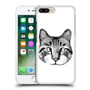 OFFICIAL TUMMEOW CATS IN BLACK AND WHITE Strabismus Hard Back Case for Apple iPhone 7 Plus (9_1FA_1BA99)
