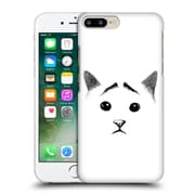 OFFICIAL TUMMEOW CATS IN BLACK AND WHITE Eyebrows Hard Back Case for Apple iPhone 7 Plus (9_1FA_1BA9A)