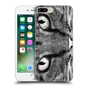 OFFICIAL TUMMEOW CATS Black and White Hard Back Case for Apple iPhone 7 Plus (9_1FA_1B552)