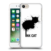 OFFICIAL TUMMEOW INK CATS Splatter Hard Back Case for Apple iPhone 7 (9_1F9_1C64C)