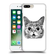 OFFICIAL TUMMEOW CATS IN BLACK AND WHITE Tongue Out Hard Back Case for Apple iPhone 7 Plus (9_1FA_1BA98)