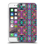 OFFICIAL AMY SIA TRIBAL Patchwork Pink Soft Gel Case for Apple iPhone 6 / 6s (C_F_1AB72)