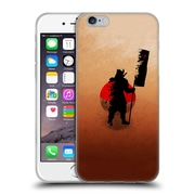 OFFICIAL ARON ART JAPANESE SILHOUETTE The Samurai Reboot Soft Gel Case for Apple iPhone 6 / 6s (C_F_1DF08)