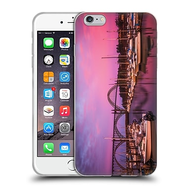 Official Darren White Sunrises and Sunsets Yaquina Bay Soft Gel Case for Apple iPhone 6 Plus / 6s Plus (C_10_1B1DF)