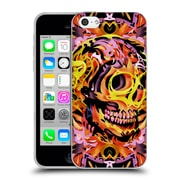 OFFICIAL ALI GULEC GEOMETRIC Skull Soft Gel Case for Apple iPhone 5c (C_E_1BD3F)