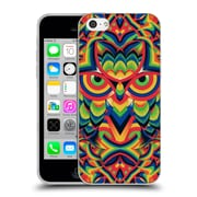 OFFICIAL ALI GULEC GEOMETRIC Owl 2 Soft Gel Case for Apple iPhone 5c (C_E_1BD3D)