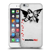 OFFICIAL BRANDALISED BANKSY TEXTURED ART Angel Hearts Soft Gel Case for Apple iPhone 6 Plus / 6s Plus (C_10_19A44)