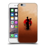OFFICIAL ARON ART JAPANESE SILHOUETTE The Geisha Reboot Soft Gel Case for Apple iPhone 6 / 6s (C_F_1DF06)
