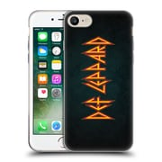 Official Def Leppard Logo Iconic Soft Gel Case for Apple iPhone 7
