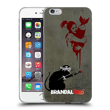 Official Brandalised Banksy Vandals Rat Soft Gel Case For Apple Iphone 6 Plus / 6S Plus