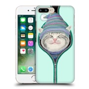OFFICIAL TUMMEOW CATS 2 Zip Hard Back Case for Apple iPhone 7 Plus (9_1FA_1BA8A)