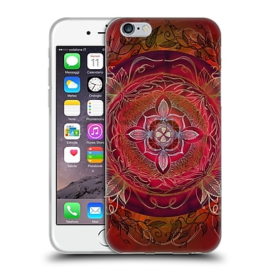 OFFICIAL BRENDA ERICKSON CHAKRAS Root Soft Gel Case for Apple iPhone 6 / 6s (C_F_1DDBB)