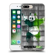 OFFICIAL BRANDALISED BANKSY DRIPS Panda Guns Soft Gel Case for Apple iPhone 7 Plus (C_1FA_18E06)