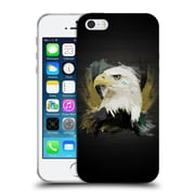 OFFICIAL ARON ART ANIMALS Eagle Soft Gel Case for Apple iPhone 5 / 5s / SE (C_D_1DEF9)