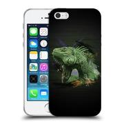 OFFICIAL ARON ART ANIMALS Iguana Soft Gel Case for Apple iPhone 5 / 5s / SE (C_D_1DEFC)