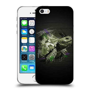 Official Aron Art Animals Tortoise Soft Gel Case For Apple Iphone 5 / 5S / Se