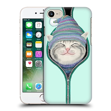 Official Tummeow Cats 2 Zip Hard Back Case For Apple Iphone 7