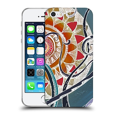 Official Brenda Erickson Mandalas Lotus Soft Gel Case For Apple Iphone 5 / 5S / Se