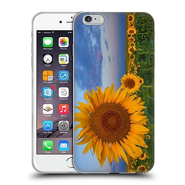 Official DARREN WHITE WILD FLOWER Plants and Blooms Sunny Side Up Soft Gel Case for Apple iPhone 6 Plus / 6s Plus