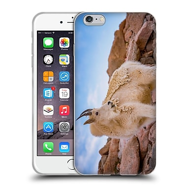 Official DARREN WHITE WILDLIFE Billy Goat Scruff Soft Gel Case for Apple iPhone 6 Plus / 6s Plus