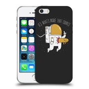 Official Dinomike Fun Illustrations Space Sucks Soft Gel Case for Apple iPhone 5 / 5s / SE