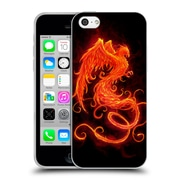 Official Christos Karapanos Phoenix On Fire Soft Gel Case for Apple iPhone 5c