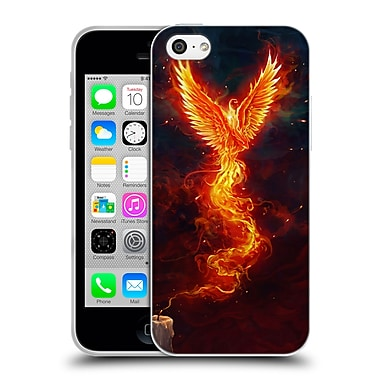 Official Christos Karapanos Phoenix 2 From The Last Spark Soft Gel Case for Apple iPhone 5c