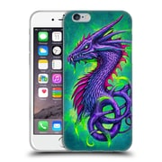 Official Christos Karapanos Dragons Poison Soft Gel Case for Apple iPhone 6 / 6s